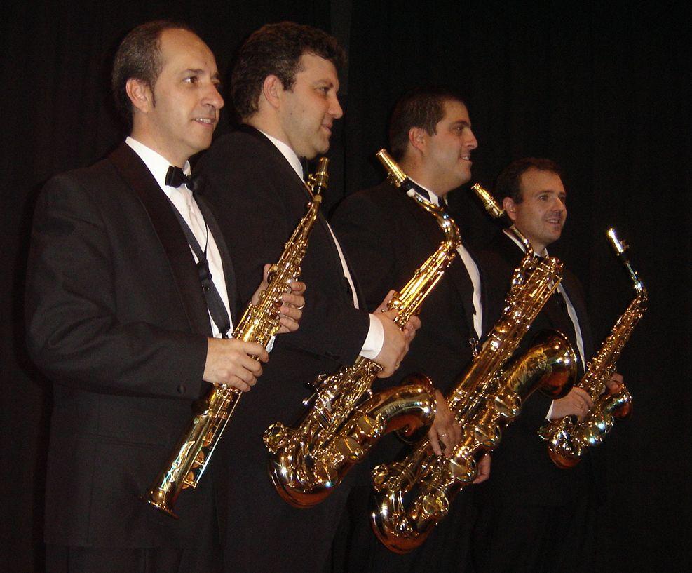 cuarteto de saxofones ciudad real