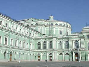 Teatro Marinski. St Petersburgo