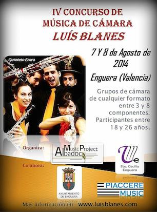 IV Edicion del Concurso de Musica de Camara Luis Blanes