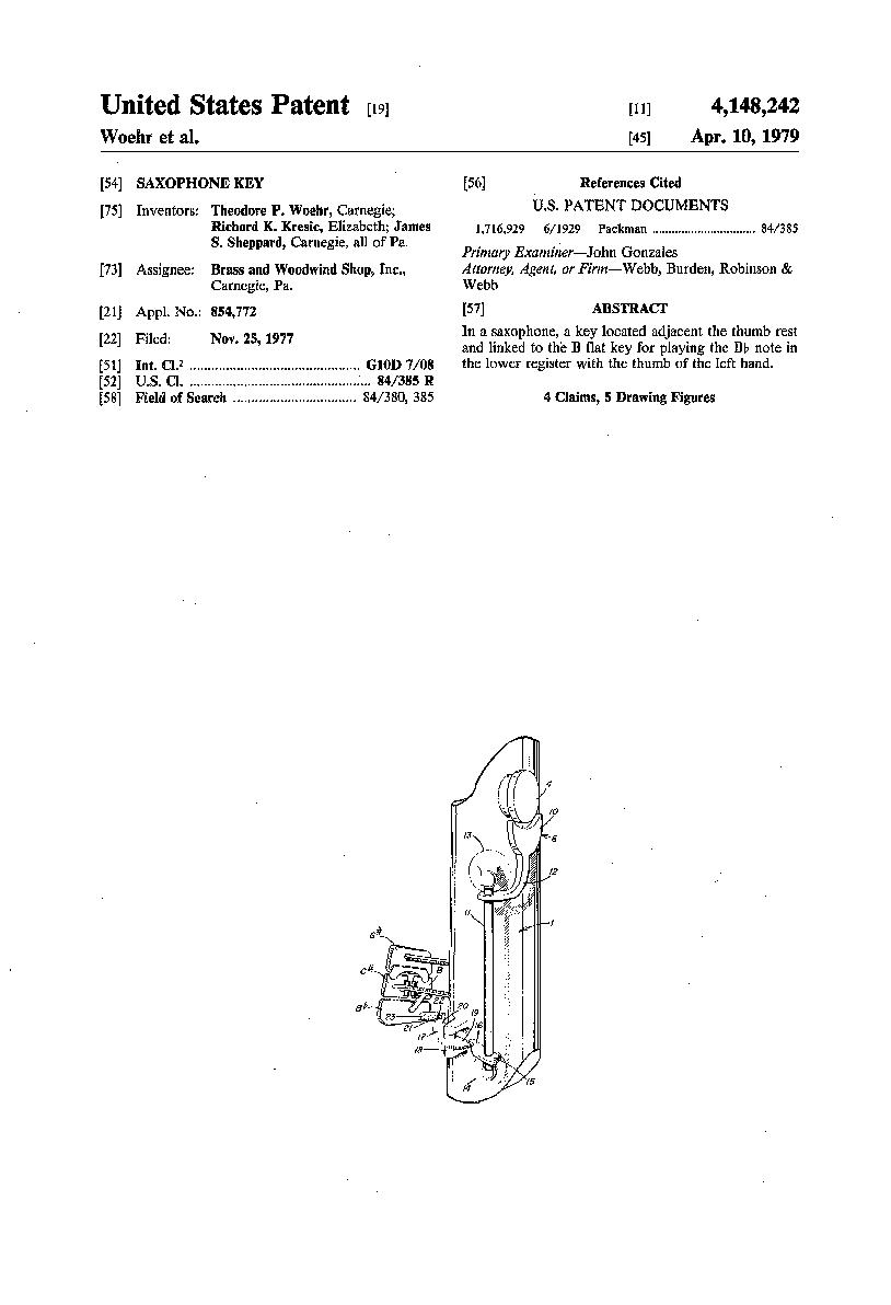 patent-Low-B-flat-mechanism