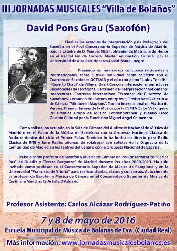 Curriculum David Pons