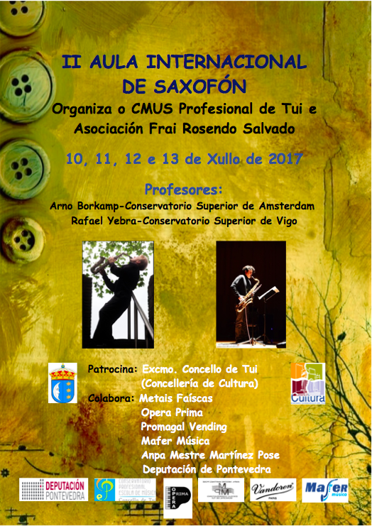 II Aula Internacional de Saxofon