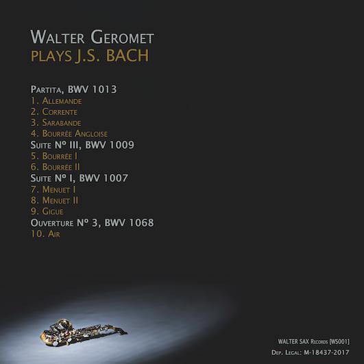 Waler Geromet Plays Bach 1