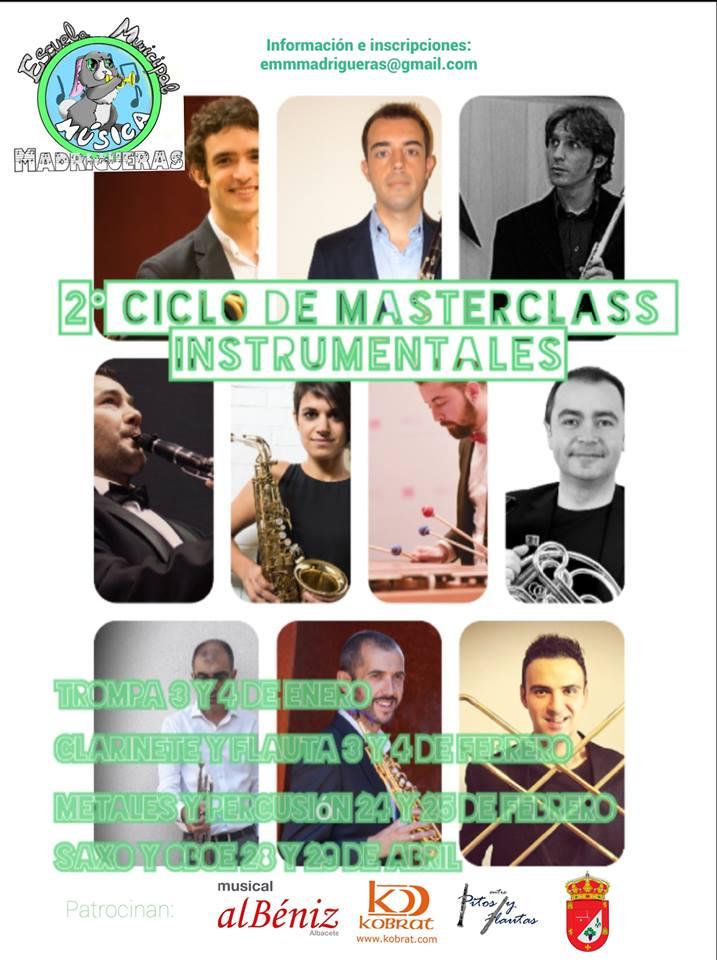 Adolphesax 2o Cilos de MAster Class Instrumentales