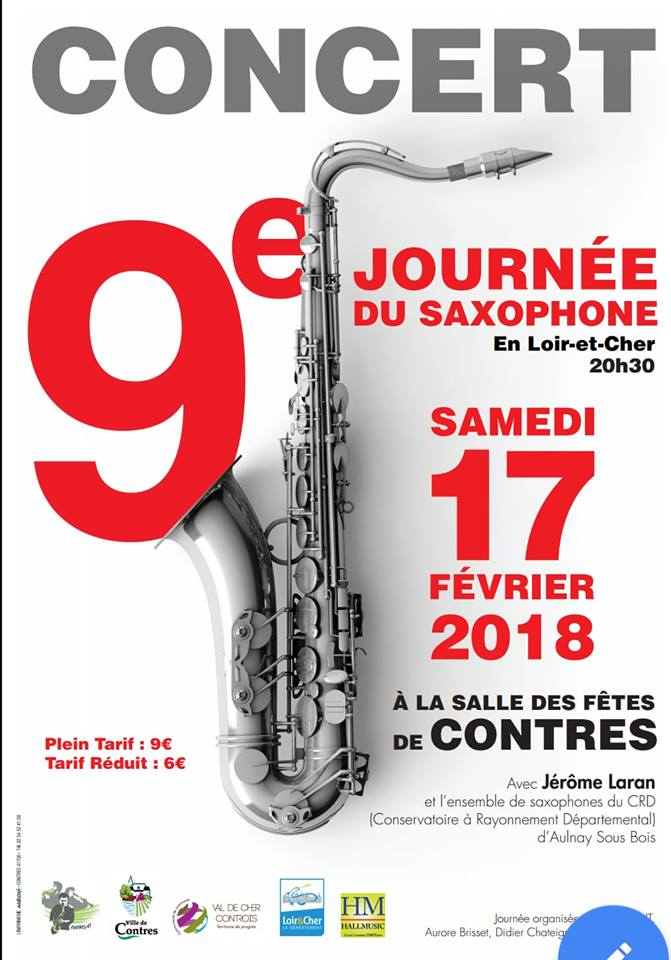 Adolphesax.com 9eme JOurne de saxophone 2018