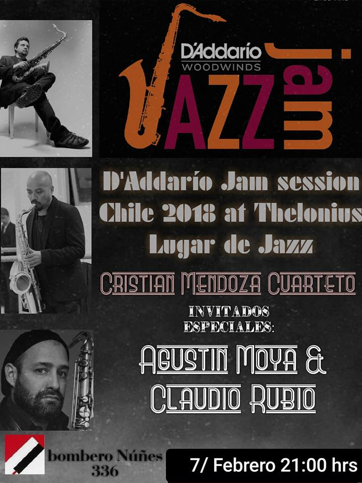 Adolphesax.com Daddario Jam Session Chile 2018