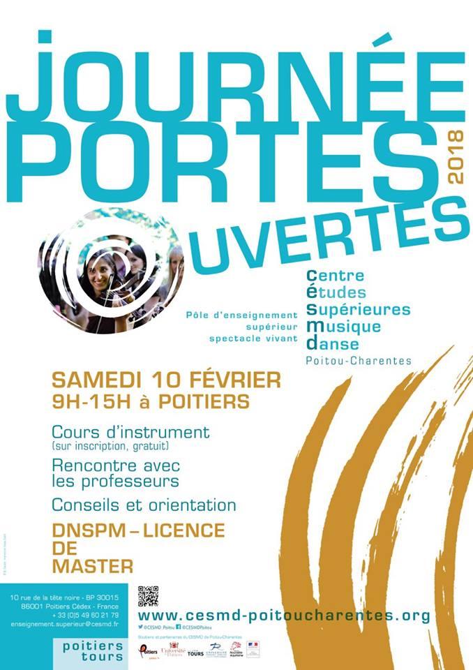 Adolphesax.com Poitiers Portes Ouvertes 2018