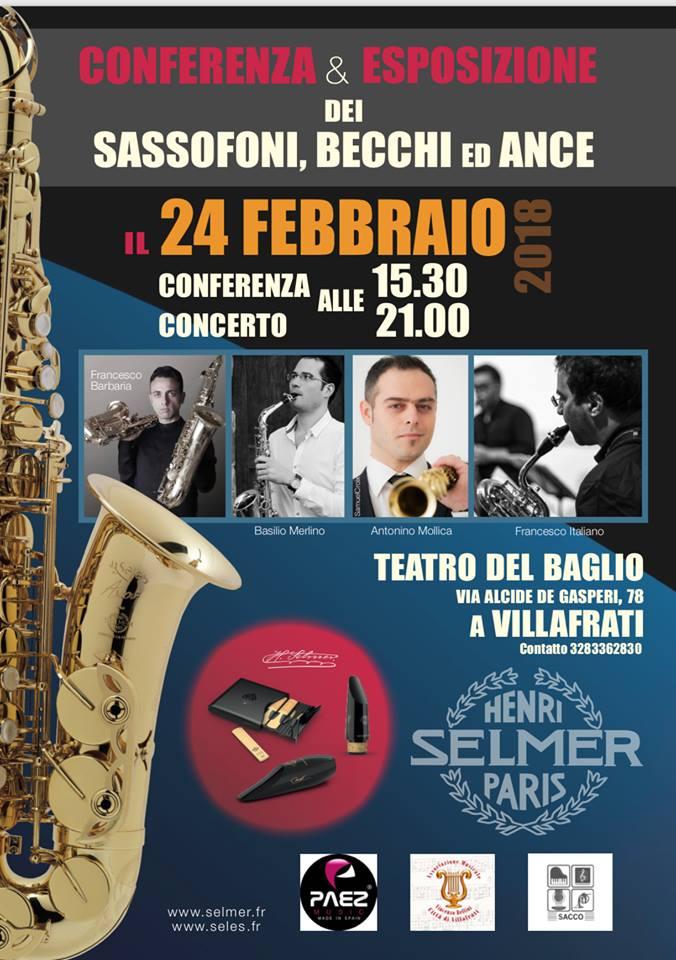 Adolphesax.com Selemr Conferencia Italia 2018