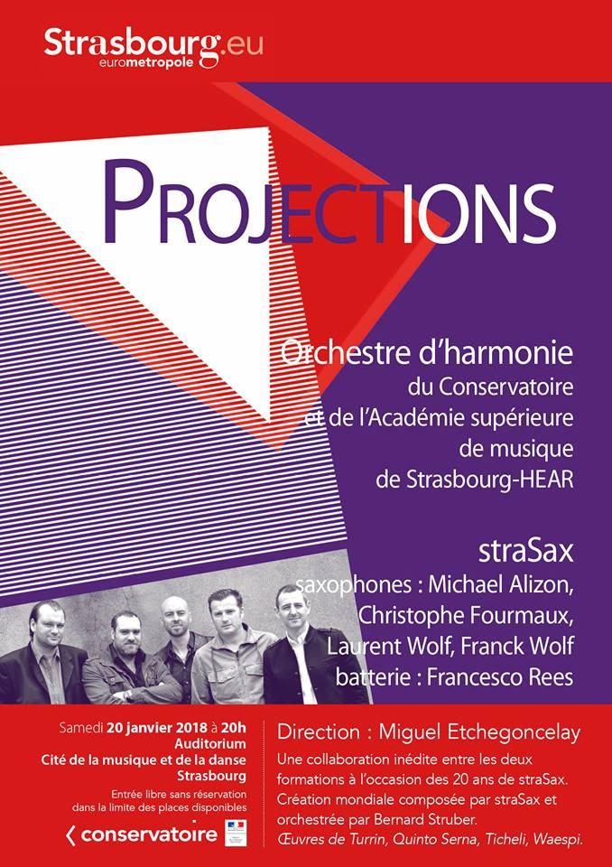 Adolphesax.com Strasbourg Projections