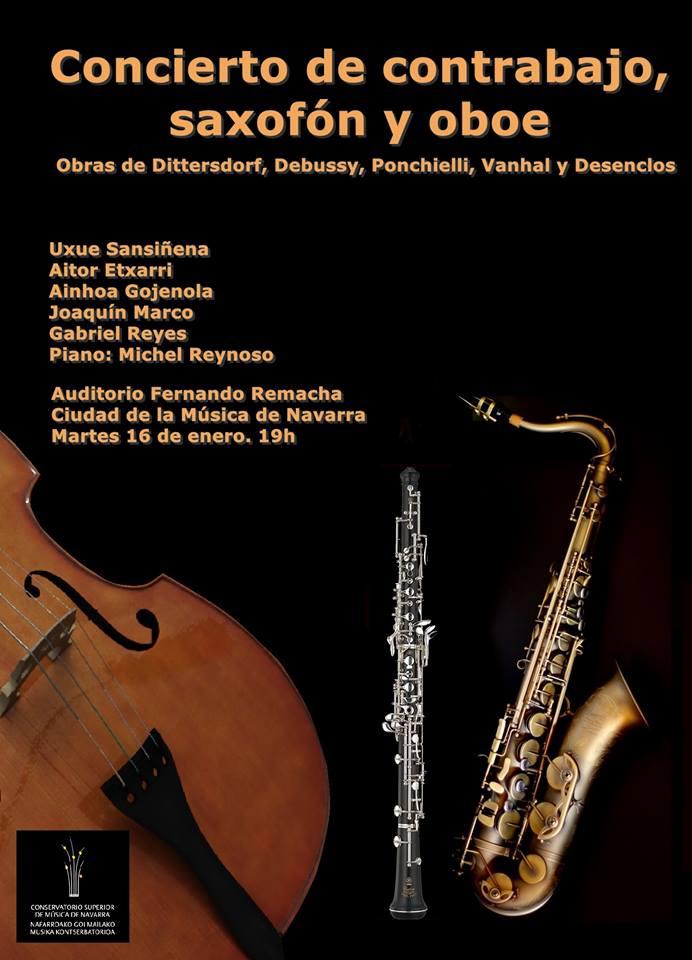 ad REcital Saxofon PAmplona