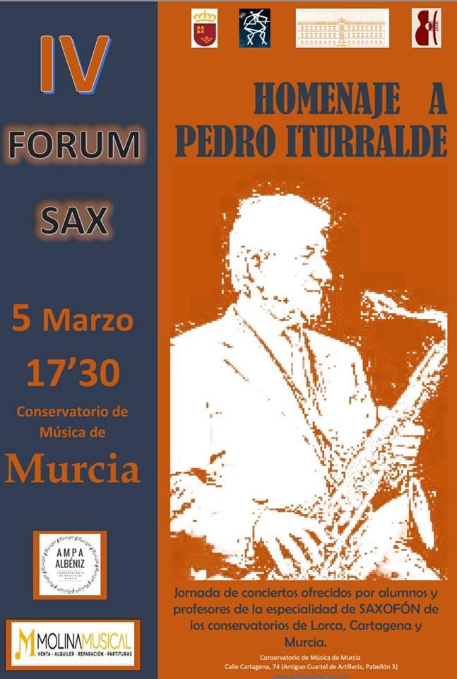 Adolphesax.com Homenaje Iturralde 2018 Murcia