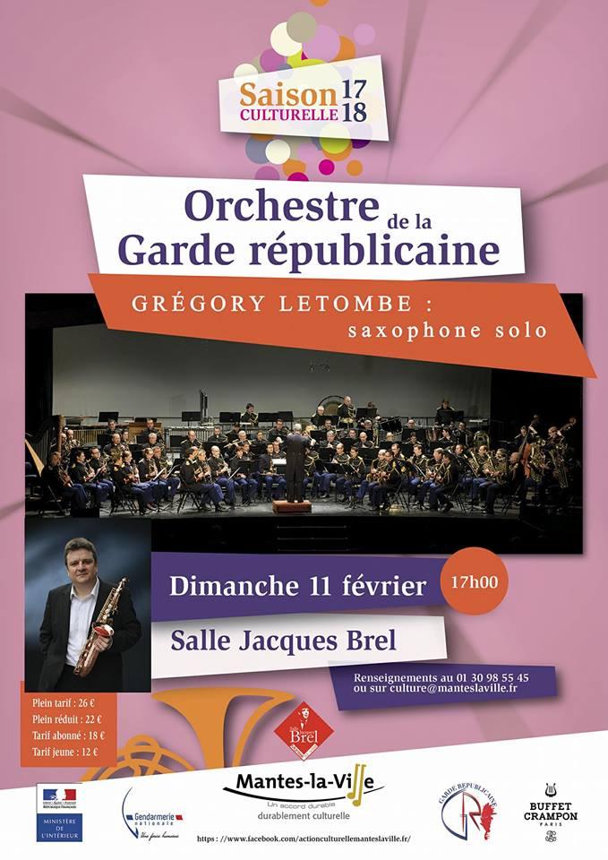 Adolphesax.com Letombe Garde Republicaine 2018