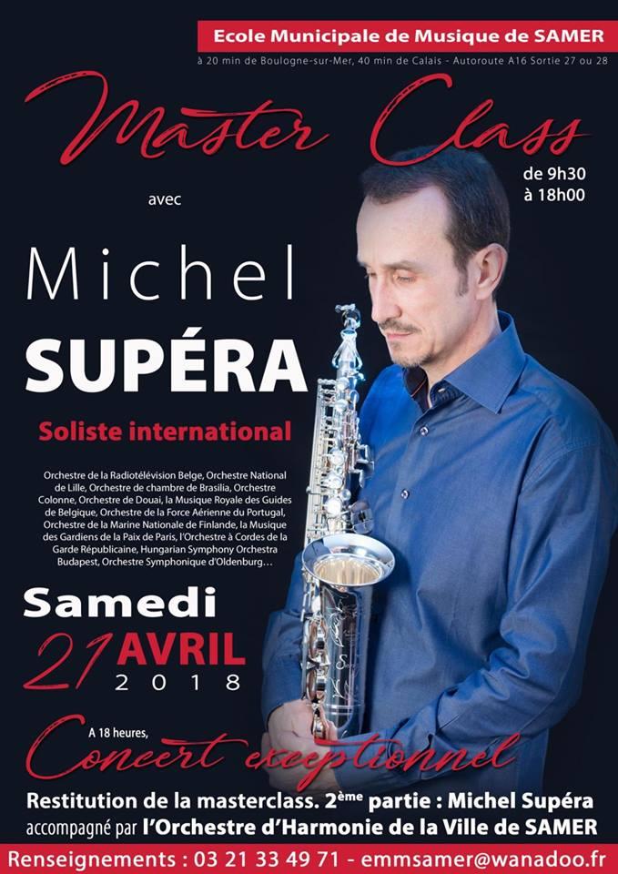 Adolphesax.com Michel SUpera Master Classs 2018
