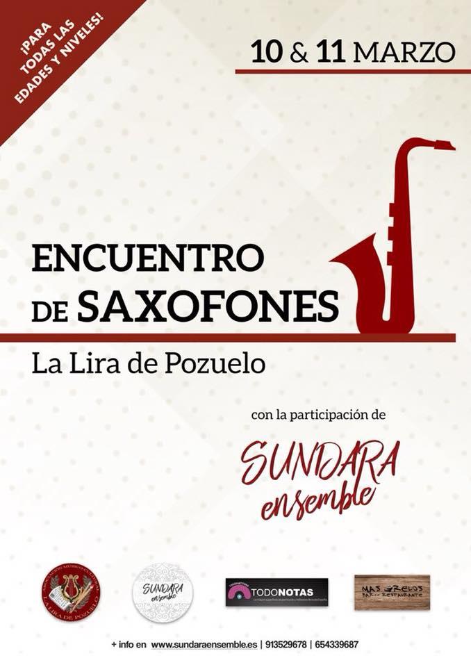 Adolphesax.com Encuentro de saxofones LA Lira 2018