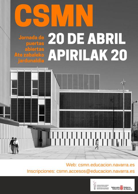 Adolphesax.com Puertas Abiertas Navarra 2018