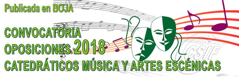 20180405 Convocatoria Catedra Musica Artes 01