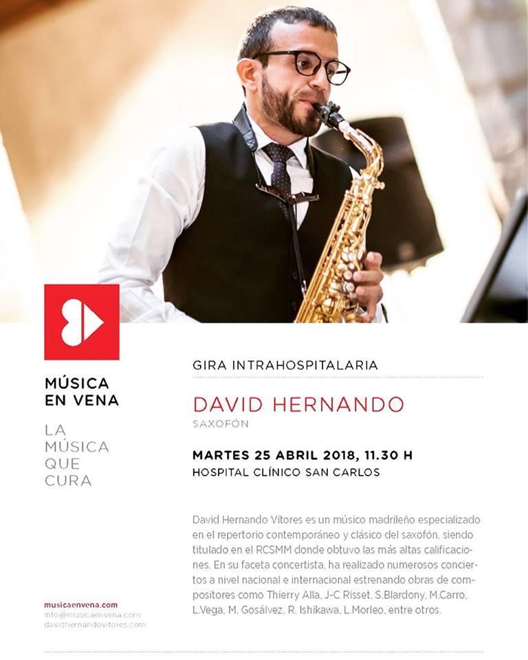AdolpheSax.com Cocnierto David Hernnado Abril 2018