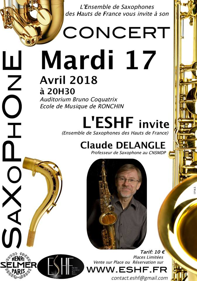 AdolpheSax.com Concierto Delangle 2018