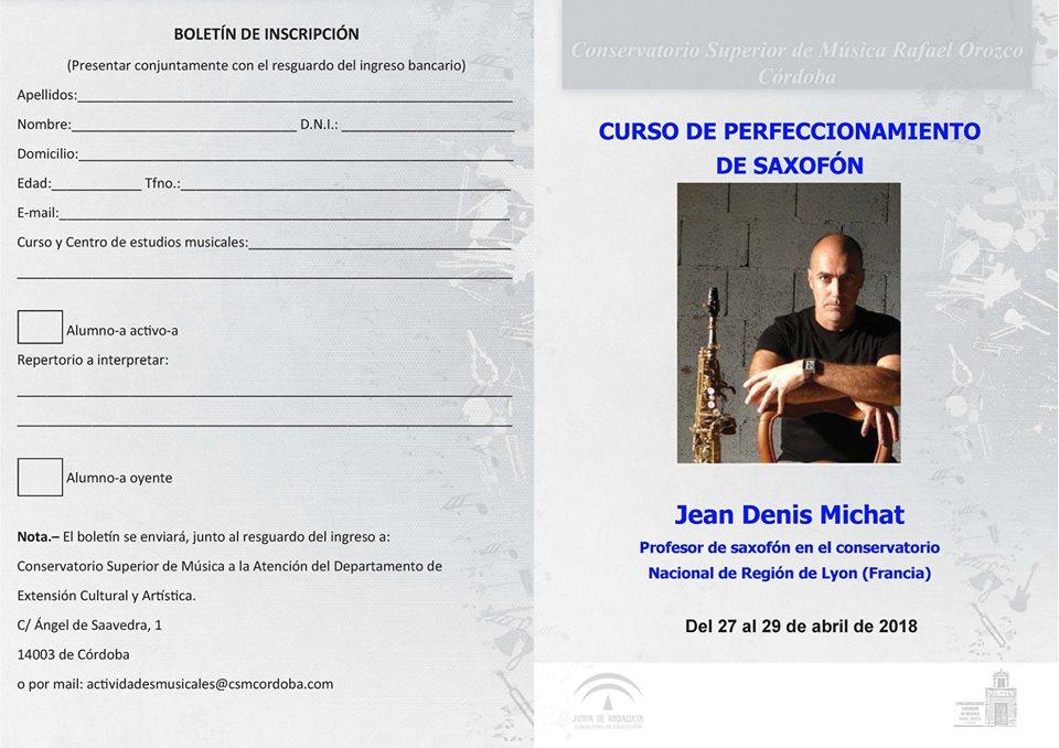 AdolpheSax.com Curso PErfeccionamiento JD Michat 2