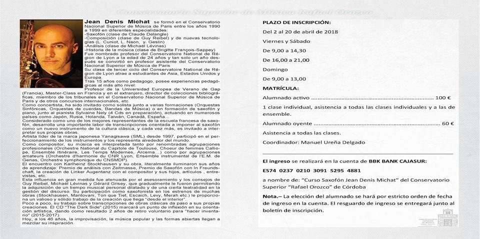 AdolpheSax.com Curso PErfeccionamiento JD Michat 3