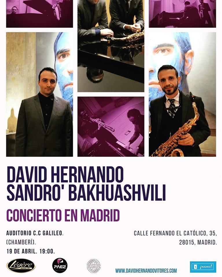 AdolpheSax.com David Hernando Concierto Galileo 2018