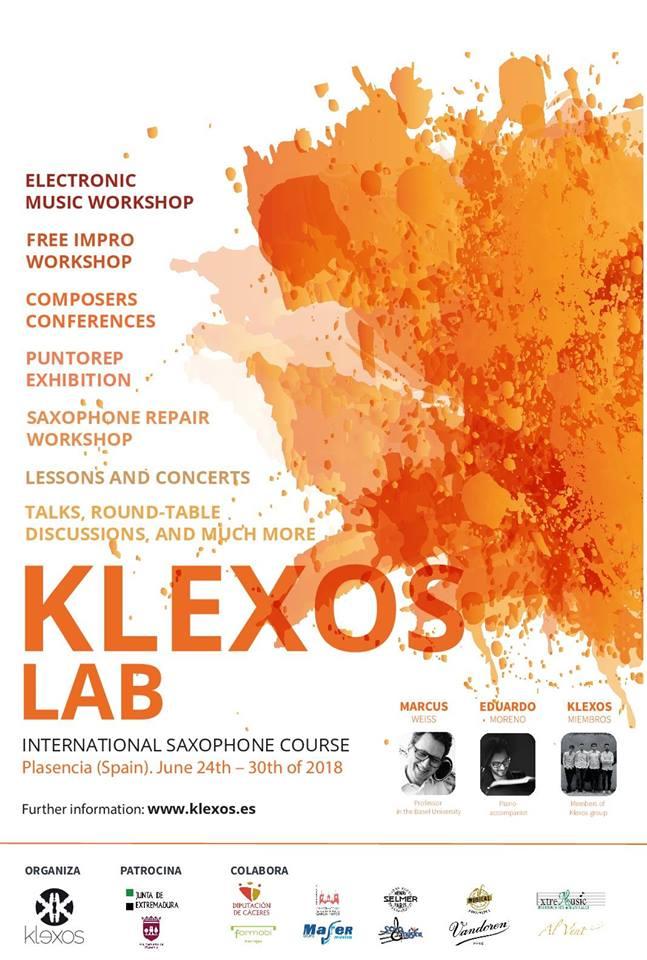AdolpheSax.com Klexos Lab 2018