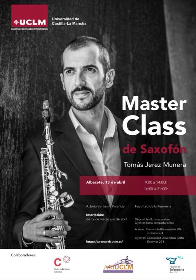 AdolpheSax.com Master Clas de Saxofon TOmas Jerez 2018 1