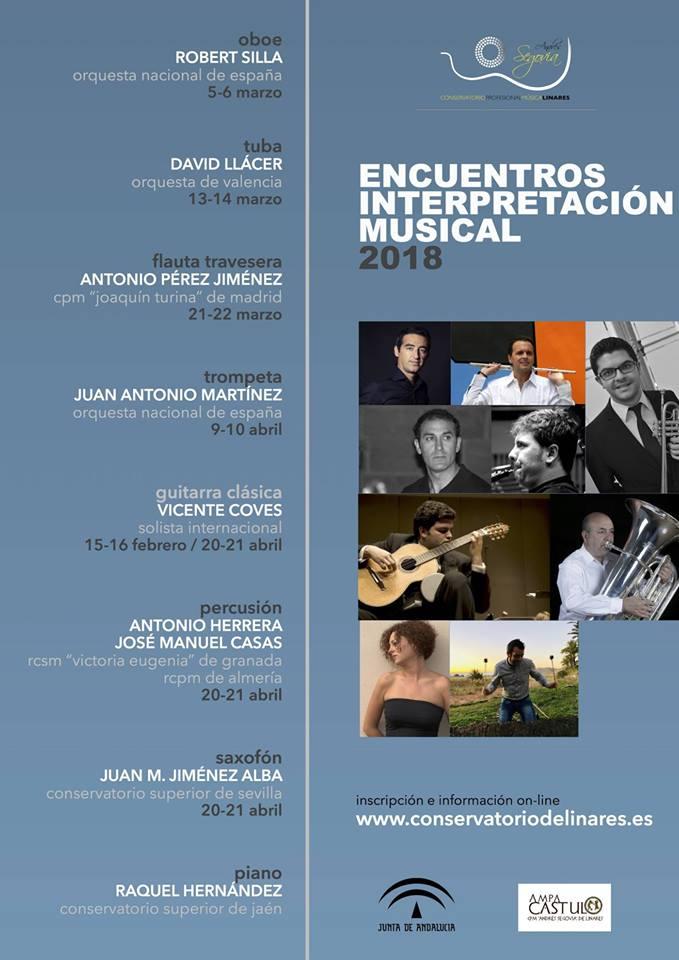 Adolphesax.com Encuetros interpretativos musicales 2018