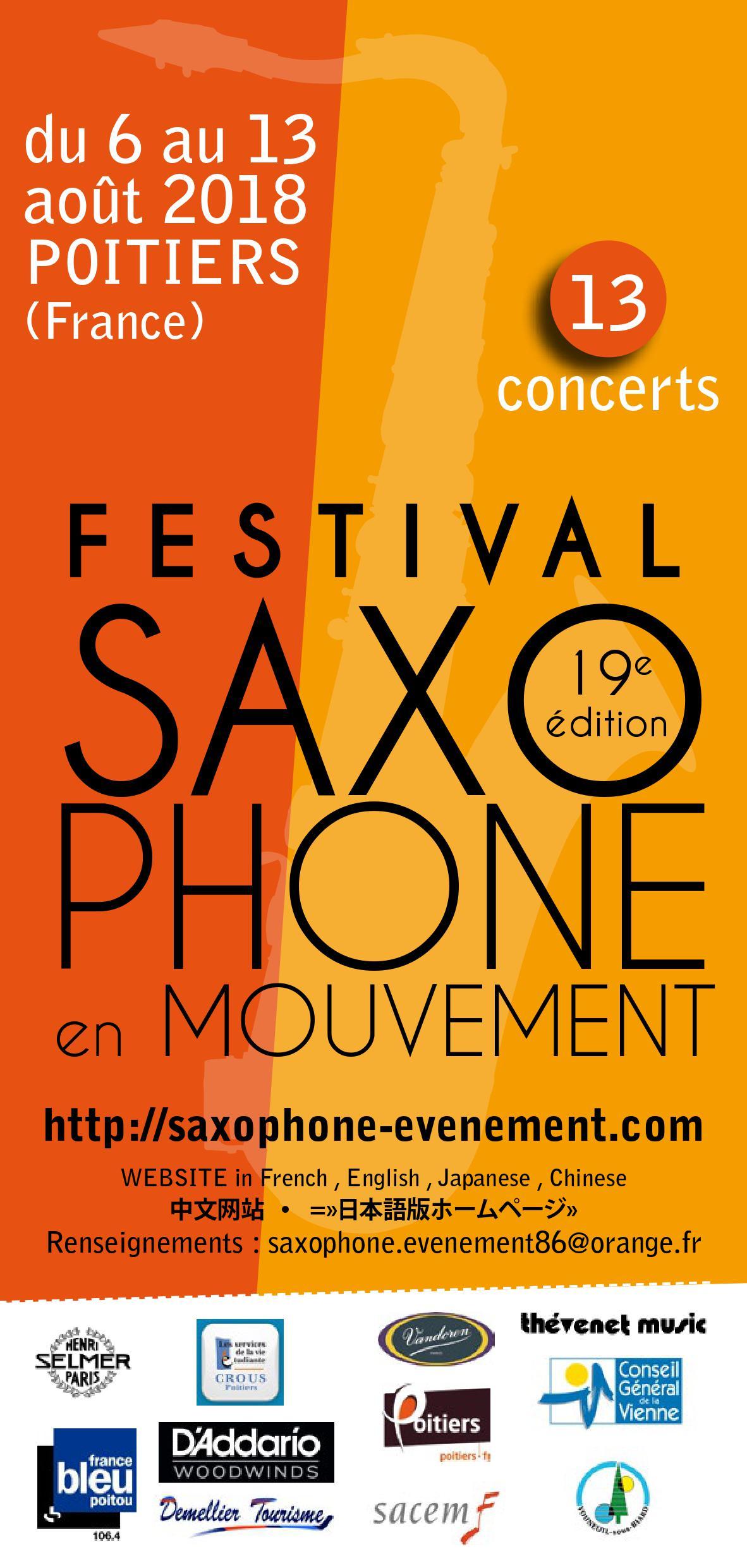 Adolphesax SAxophone en mouvement 1 1 2018