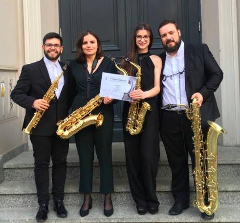 Cuarteto Rhea GANADOR del Primer Premio en el 5th Internacional Chamber Music Competition organizado por la Akademia Muzyczna de Bydgoszcz Polonia