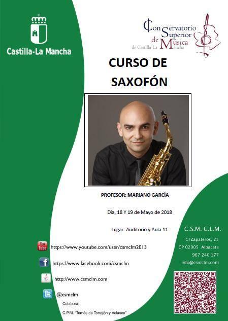 Adolphesax.com Curso Saxofon Mariano Garcia Mayo 2018