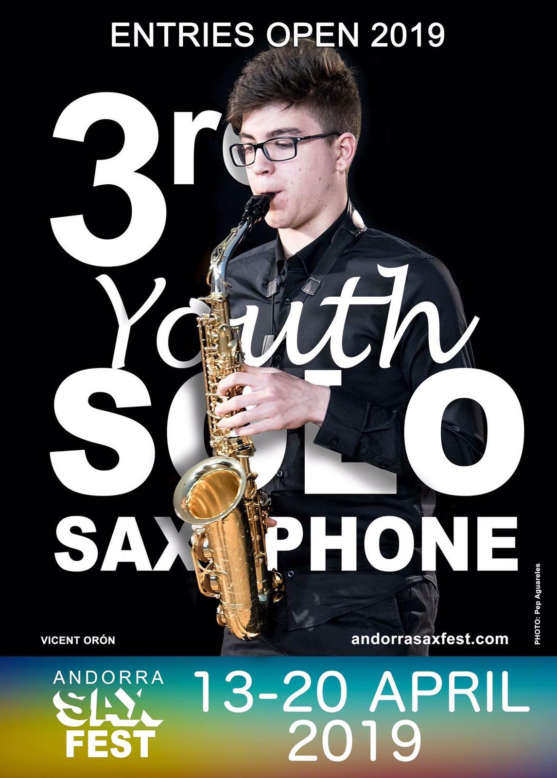 Andorra Sax FEst 2018 COncurso Jovenes