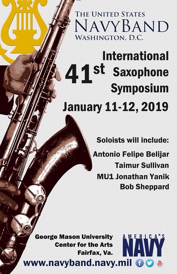 Adolphesax.com 41th Intenrational saxophone symphosium enero 2019