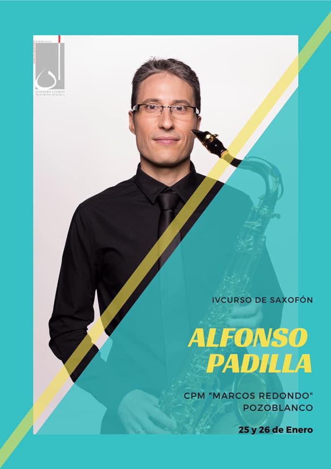 Adolphesax.com Alfonso Padilla Curso SAxofon Pozoblanco Enero 2019