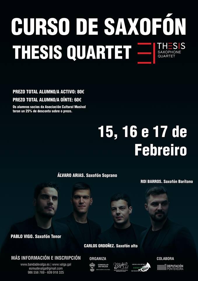 Adolphesax.com Curso de Saxofon Thesis QUartet