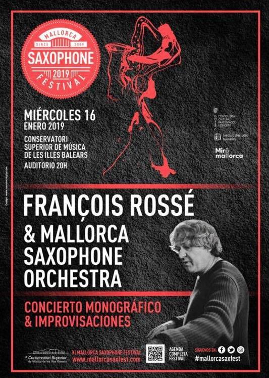 Adolphesax.com Francois Rosse Mallorca Saxophone Festival 2019