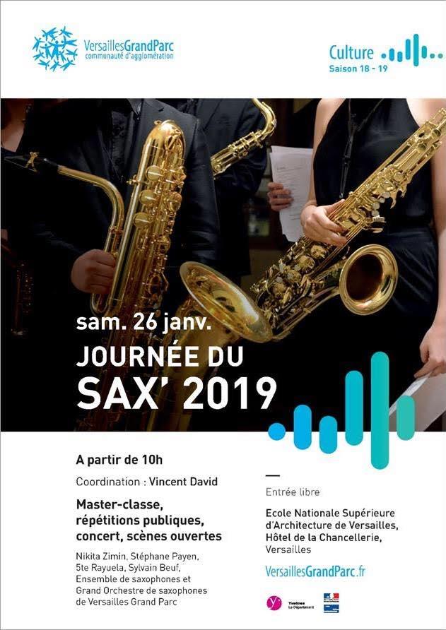 Adolphesax.com JOurnee de sax Enero 2019
