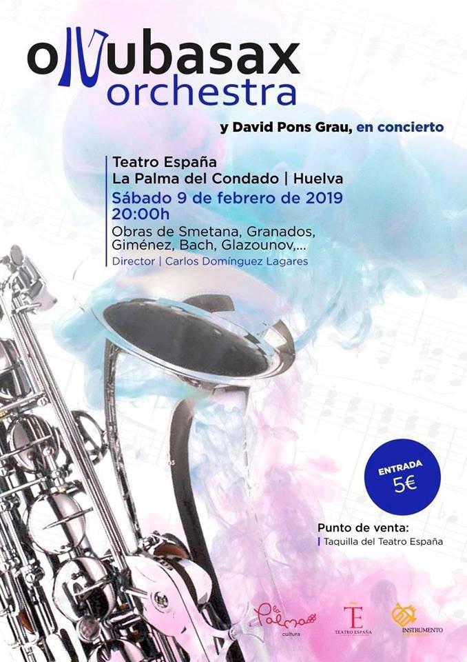 Adolphesax.com Onuba Orquesta Febrero 2019