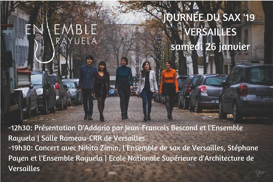 Adolphesax.com Rayuela Ensemble Enero 2019