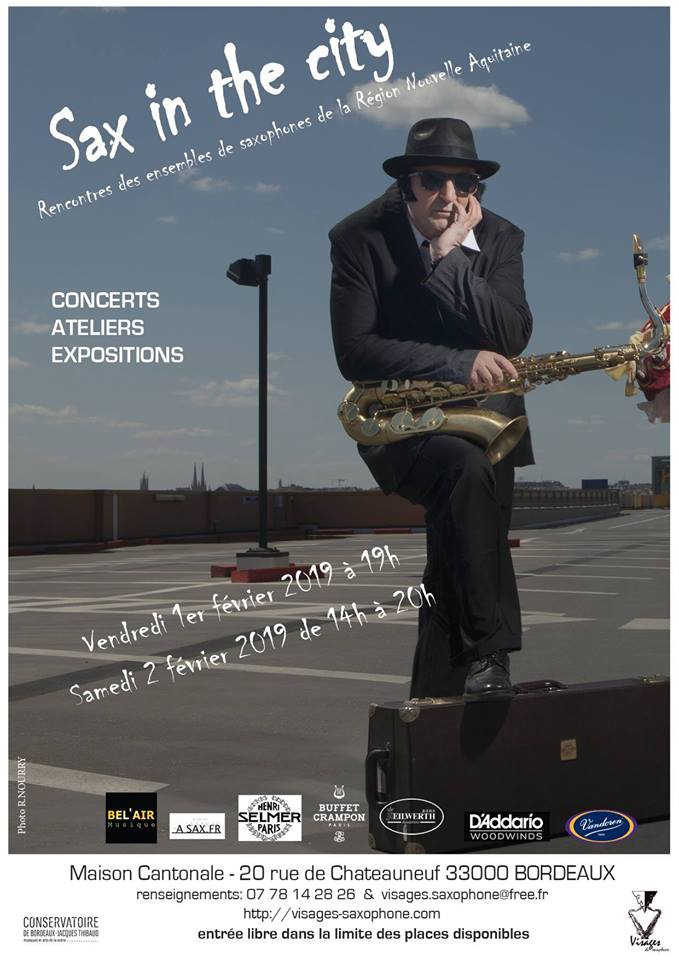 Adolphesax.com SAx in the City February 2019jpg