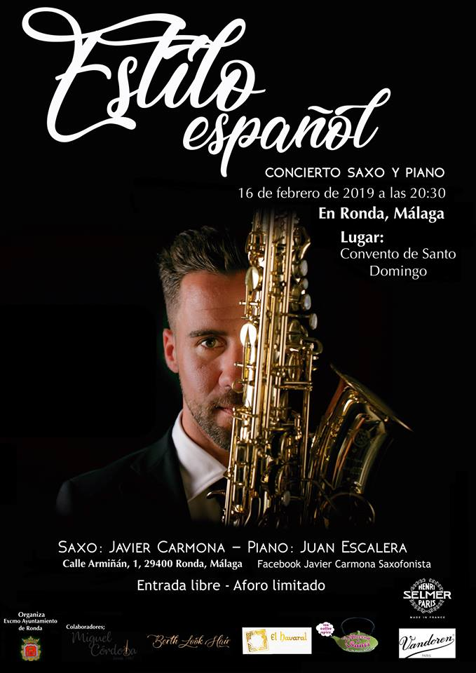 Febrero 2019 Estilo espanol Javier Carmona
