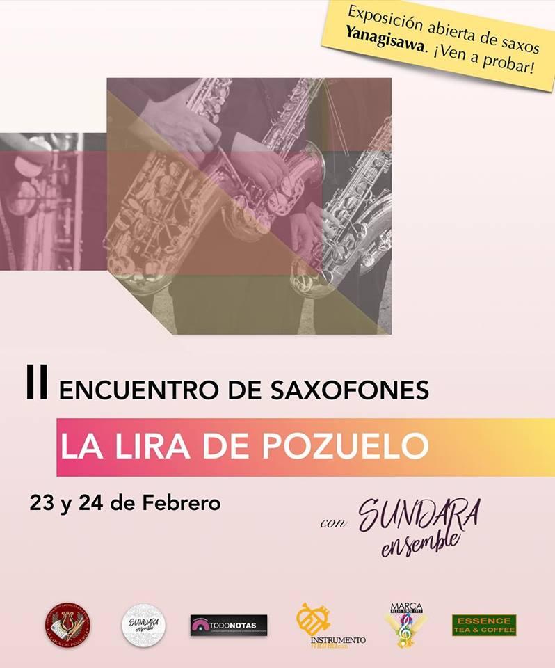 II Encuentro de Saxofones La Lira