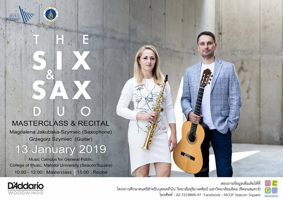 January 2019 The six sax
