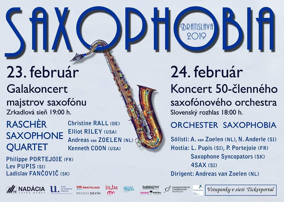 Adolphesax.com Saxophobia Bratislava February 2019