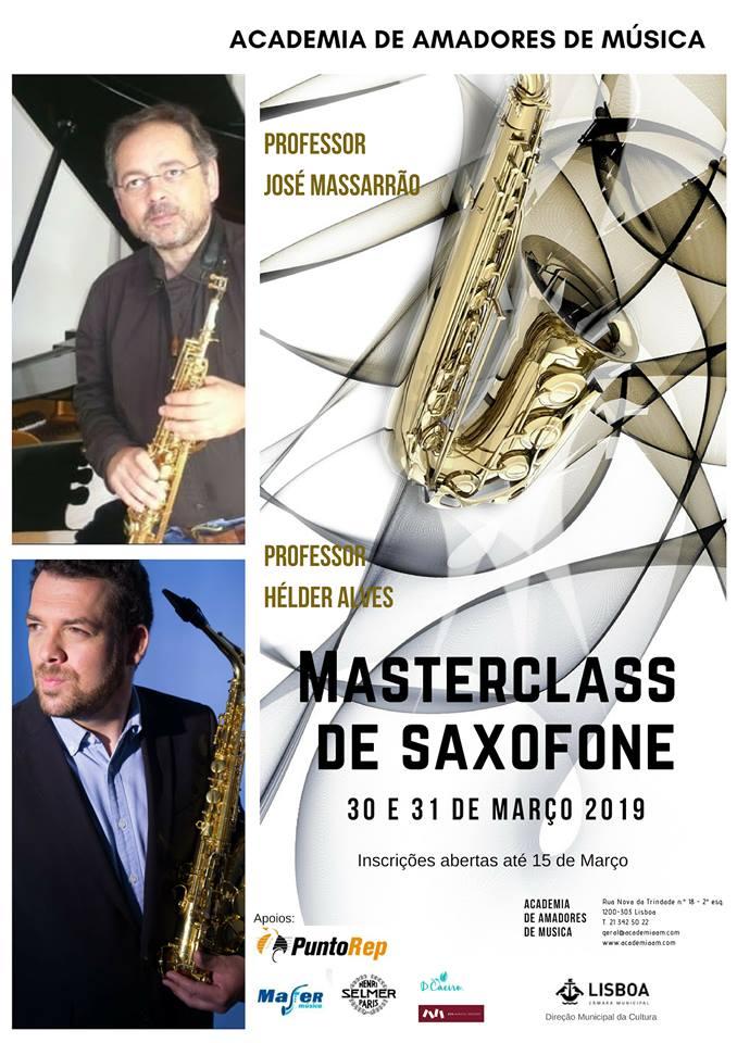 Adolphesax.com MAster Class SAxofon Marzo 2019