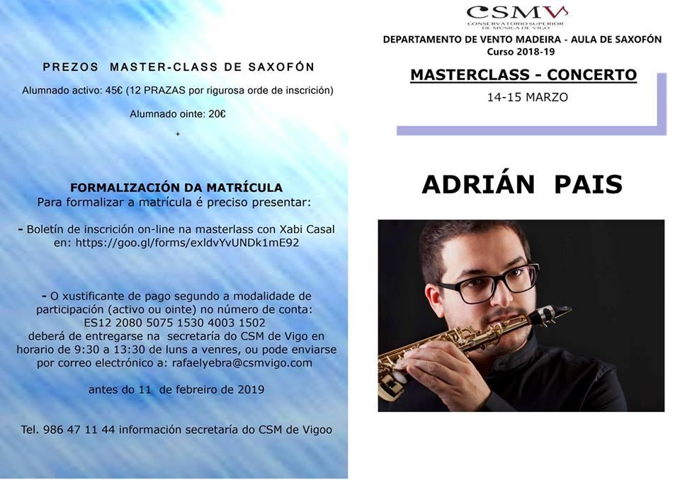 Adolphesax.com Marzo 2019 Adrian PAis 2