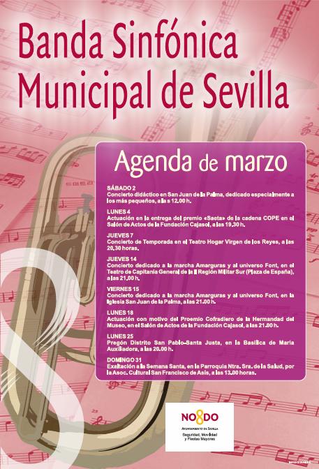 Adolphesax.com Marzo 2019 Banda Sevila