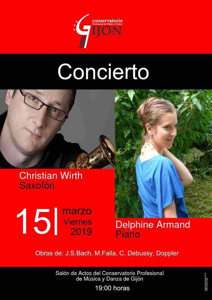 Adolphesax.com Marzo 2019 Christian Wirth concierto