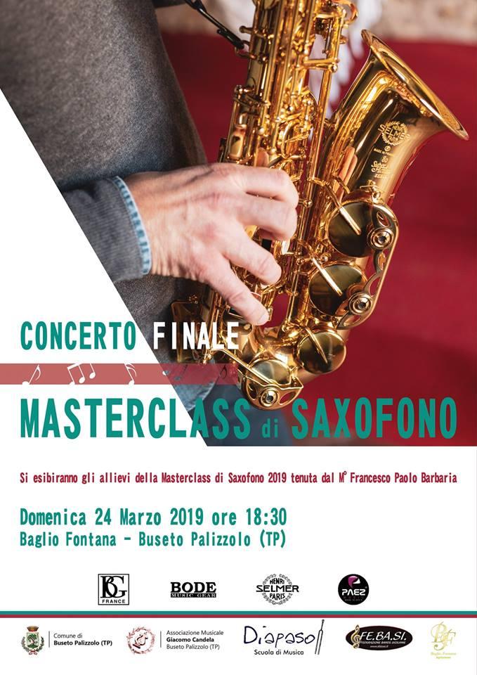Adolphesax.com Marzo 2019 MAsterclass saxofono
