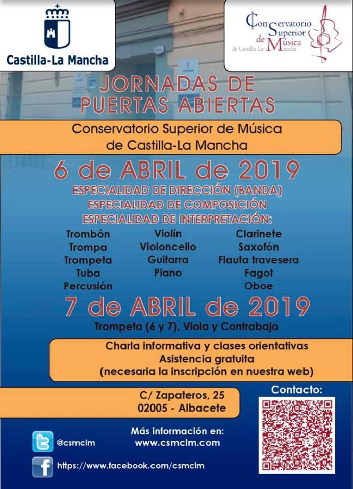 Adolphesax.com Marzo 2019 Puertas abiertas CSCLM 2
